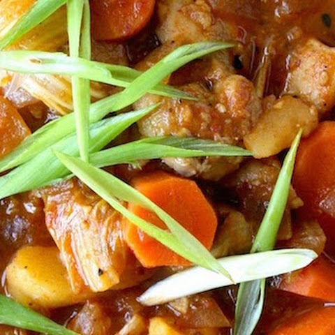 Easy Spicy Korean Chicken Stew (Dakdoritang)
