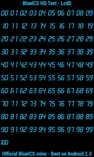 BN Pro BlueICS HD Text screenshot 6