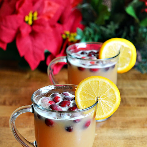 Fizzy Cranberry Pineapple Holiday Punch