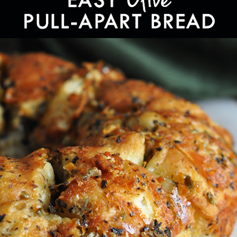 Easy Olive Pull-Apart Bread