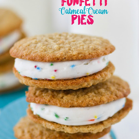 Funfetti Oatmeal Cream Pies