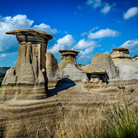 by Joseph Law - Landscapes Caves & Formations ( hoodoos trail )
