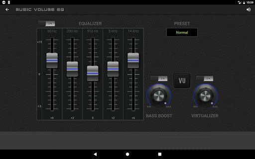 Music Volume EQ - Sound Bass Booster & Equalizer screenshot 10