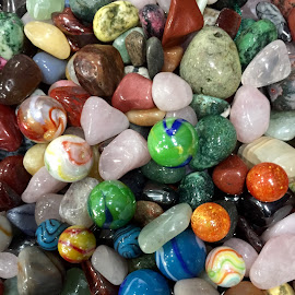 Marbles and Stone Gems by Lope Piamonte Jr - Artistic Objects Other Objects