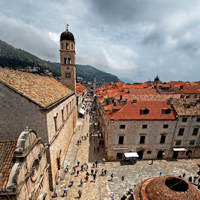 Old Town Dubrovnik by Boris Jakesevic - City,  Street & Park  Historic Districts ( dubrovnik, croatia, architecture, historic )