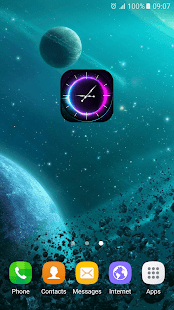 How to mod Galaxy Analog Clock Widget lastet apk for android