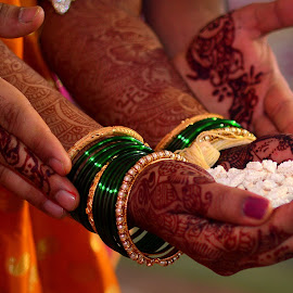 Joining hands joining lives by Manoj Kulkarni - Wedding Details ( hands, ritual, wedding, indian wedding )