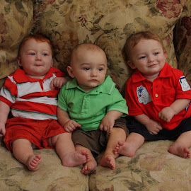 Triplets by JERry RYan - Babies & Children Children Candids