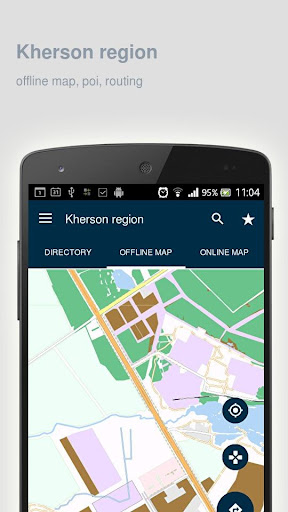 Kherson region Map offline - screenshot