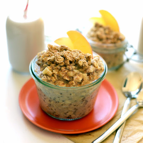 Apple Cobbler Overnight Oats