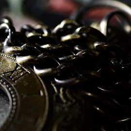 Pocketwatch by Yani Dubin - Artistic Objects Clothing & Accessories ( pocketwatch, macro, technology, clock, watch,  )