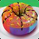 Delicious Rainbow Donut