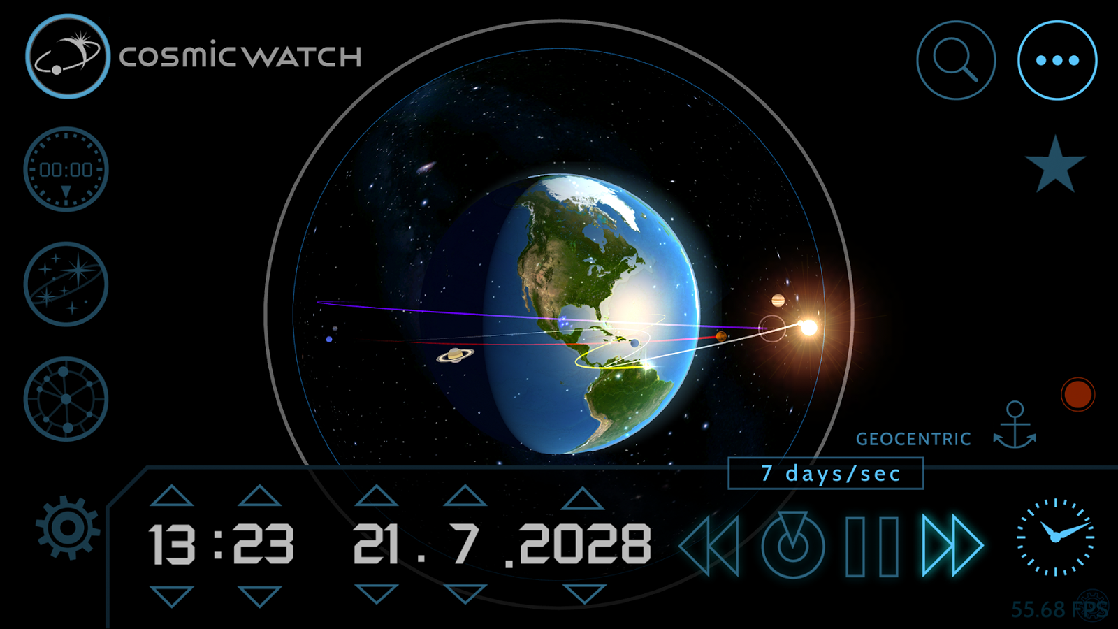 Cosmic-Watch Screenshot 4