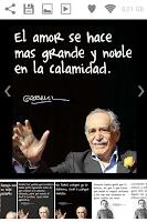 Screenshot of Garcia Marquez Quotes
