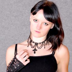 anamaria by Mrak Rado- Fotograf - People Portraits of Women ( girl, goth, rock, punk, gotic,  )