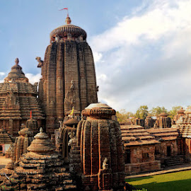 Lingaraja Temple  by Biswajit Tripathy - Buildings & Architecture Places of Worship ( temple, bhubaneswar smart city, biswajit tripathy, architecture, btstuffs, bhubaneswar, odisha )