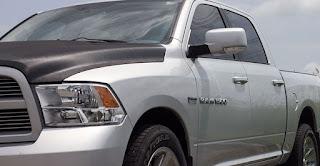 Window tint on a Dodge Ram - Ottawa