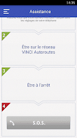 Screenshot of VINCI Autoroutes