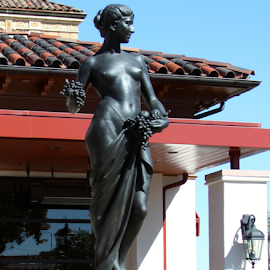 The Plaza by Monica Hayden-Carroll - City,  Street & Park  Historic Districts ( statue, kansas city, plaza )