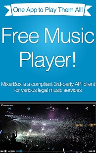 Free (ASIA ONLY) MixerBox Music App APK for Windows 8