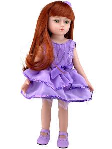 """Кукла серии """"Город Игр"""" 45 см, фиолетовый"""