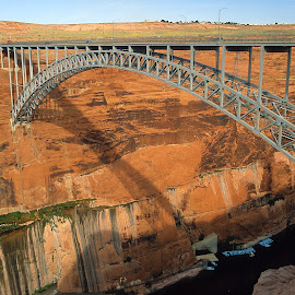 Glenn Canyon bridge by Gérard CHATENET - Buildings & Architecture Bridges & Suspended Structures