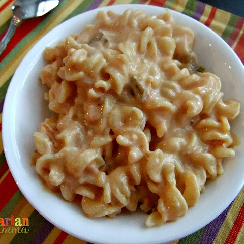Salsa Mac and Cheese – #glutenfree #vegan