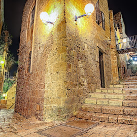 OLD JAFFA by Oliver Costales - City,  Street & Park  Neighborhoods