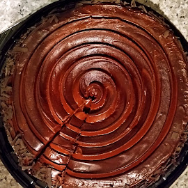Chocolate Cake by Ingrid Anderson-Riley - Food & Drink Cooking & Baking