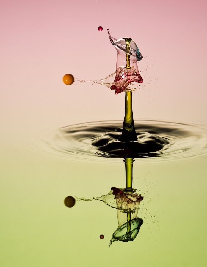 shot by Francois Loubser - Abstract Water Drops & Splashes
