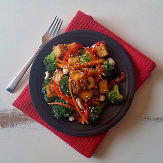 Chilli Ginger Vegetable & Tofu Stir Fry