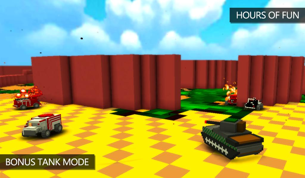 Blocky Demolition Derby Screenshot 2