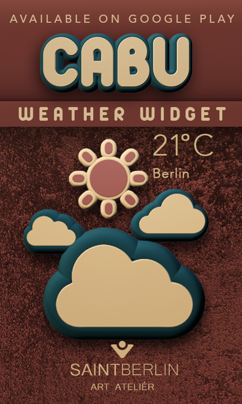 Cabu Clock Widget Screenshot 3