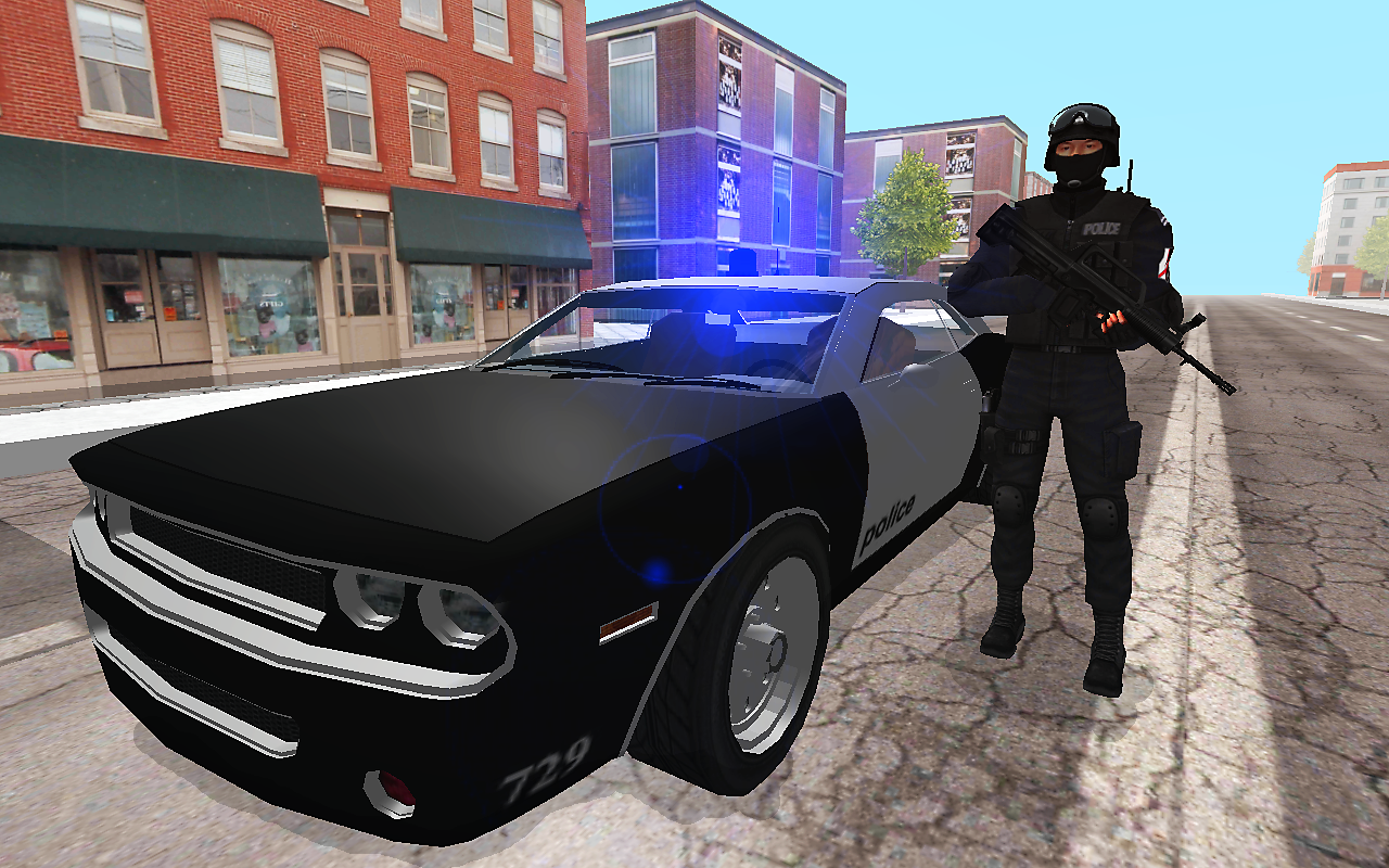 In Car Police Screenshot 2