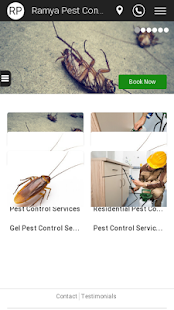 Ramya Pest Control - screenshot