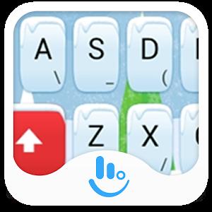 TouchPal Winter Keyboard Theme