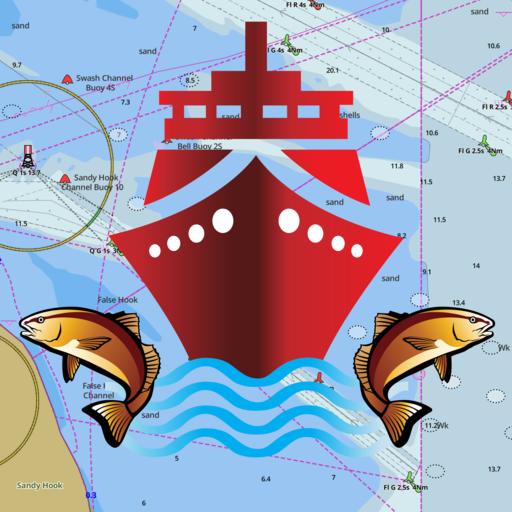 Android aplikacija i-Boating:Croatia Marine Chart na Android Srbija