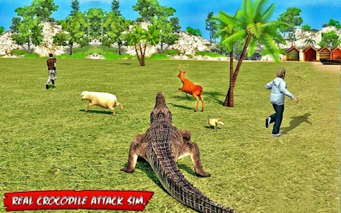 Game Crocodile Attack Mission 3D APK for Kindle