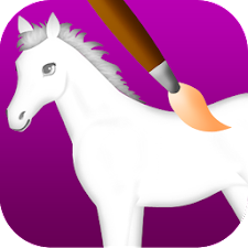 horse coloring games
