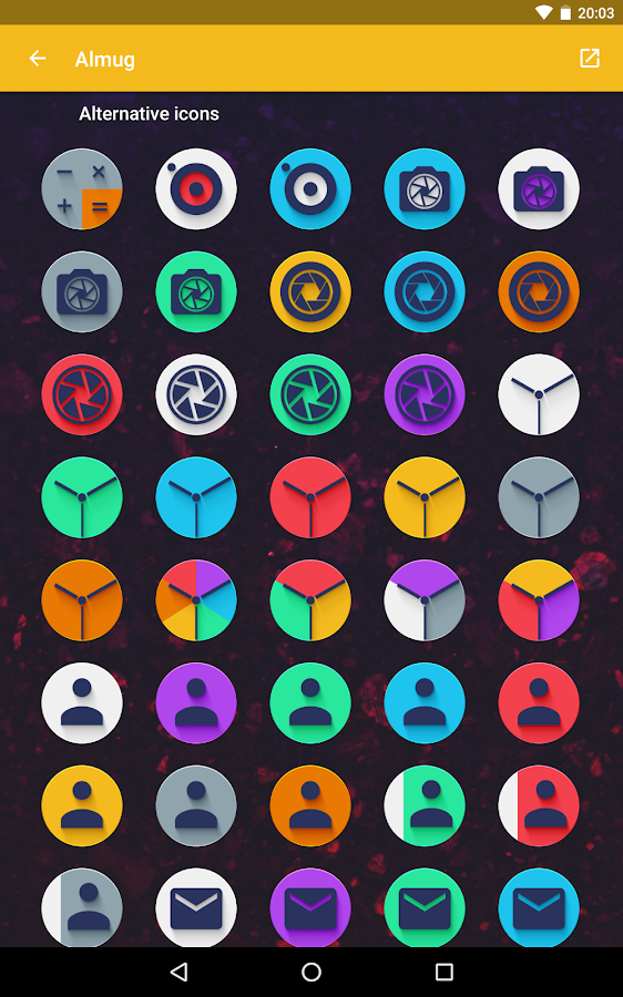 Almug - Icon Pack Screenshot 11