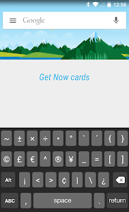 Smart Keyboard OS 9 Dark Skin - screenshot
