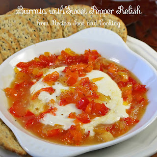Sweet Pepper Relish Appetizer Recipes
