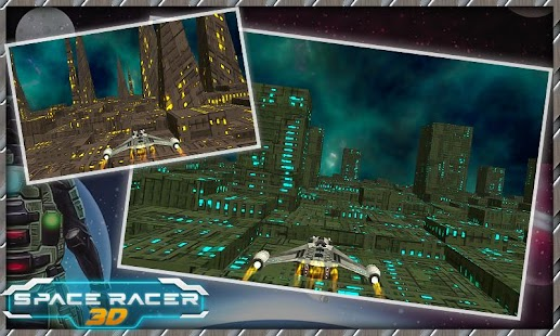 Space Racer 3D Cosmic War - screenshot
