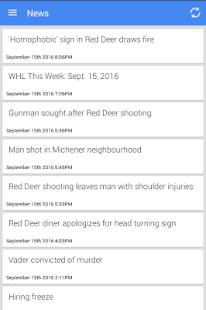 Red Deer News - screenshot