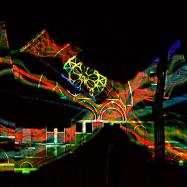 by John Berry - Abstract Light Painting