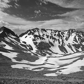 Wilson Group by Justin Giffin - Black & White Landscapes ( mountains, black and white, colorado, 14ers, landscapes )