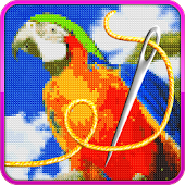 Cross Stitch Icon
