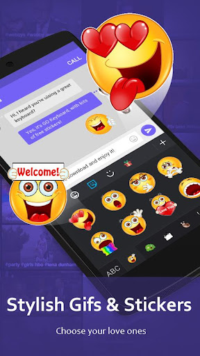 GO Keyboard - Cute Emojis, Themes and GIFs screenshot 5