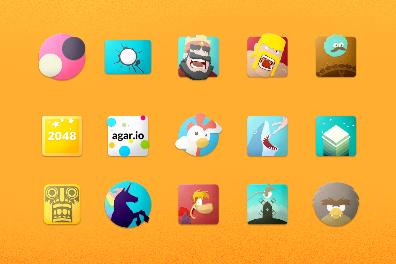 Chromatin UI - Icon Pack Screenshot 1
