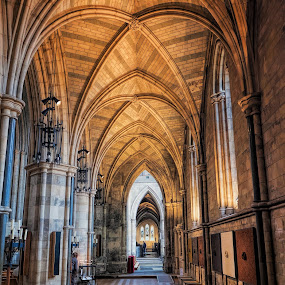 Underneath the Arches by Phil Robson - Buildings & Architecture Places of Worship ( interior, church, london, arches, southwark cathedral )